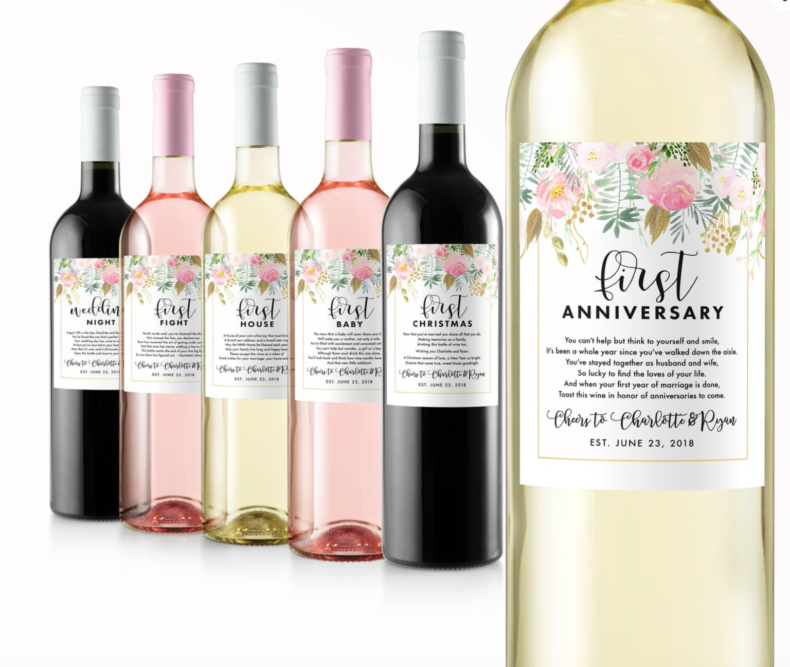 Year of Firsts wine