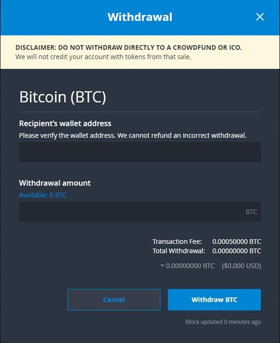 quanto tempo demora uma transferencia bitcoin