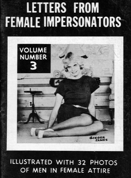 Cover of Letters from Female Impersonators Volume Number 3