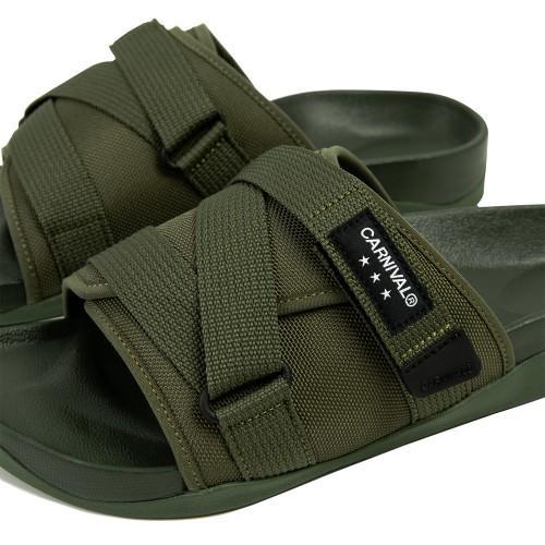 """CARNIVAL AVENTURER SANDALS OLIVE"" รองเท้าแตะ Outdoor Style 02"