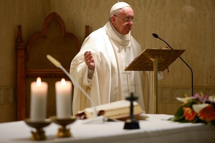 Pope Francis at Santa Marta - May 26