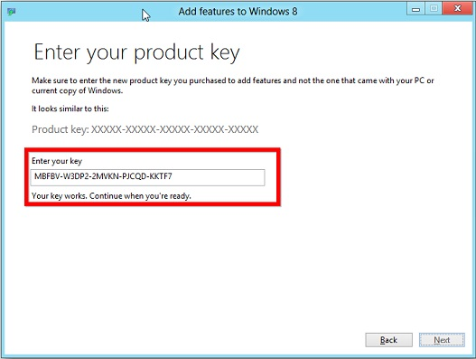 find your windows key 8.1