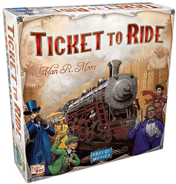 ticket to ride board games beginners