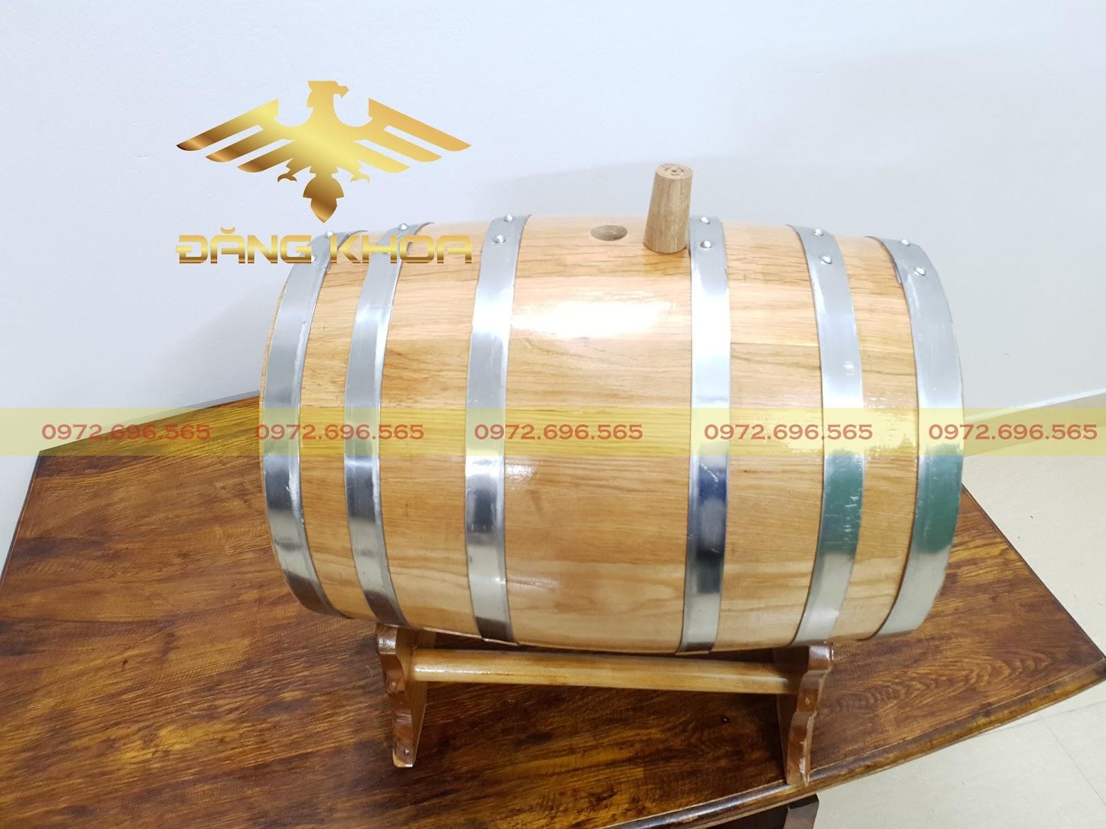 Rượu ngâm thùng gỗ sồi giúp ngăn ngừa ung thư