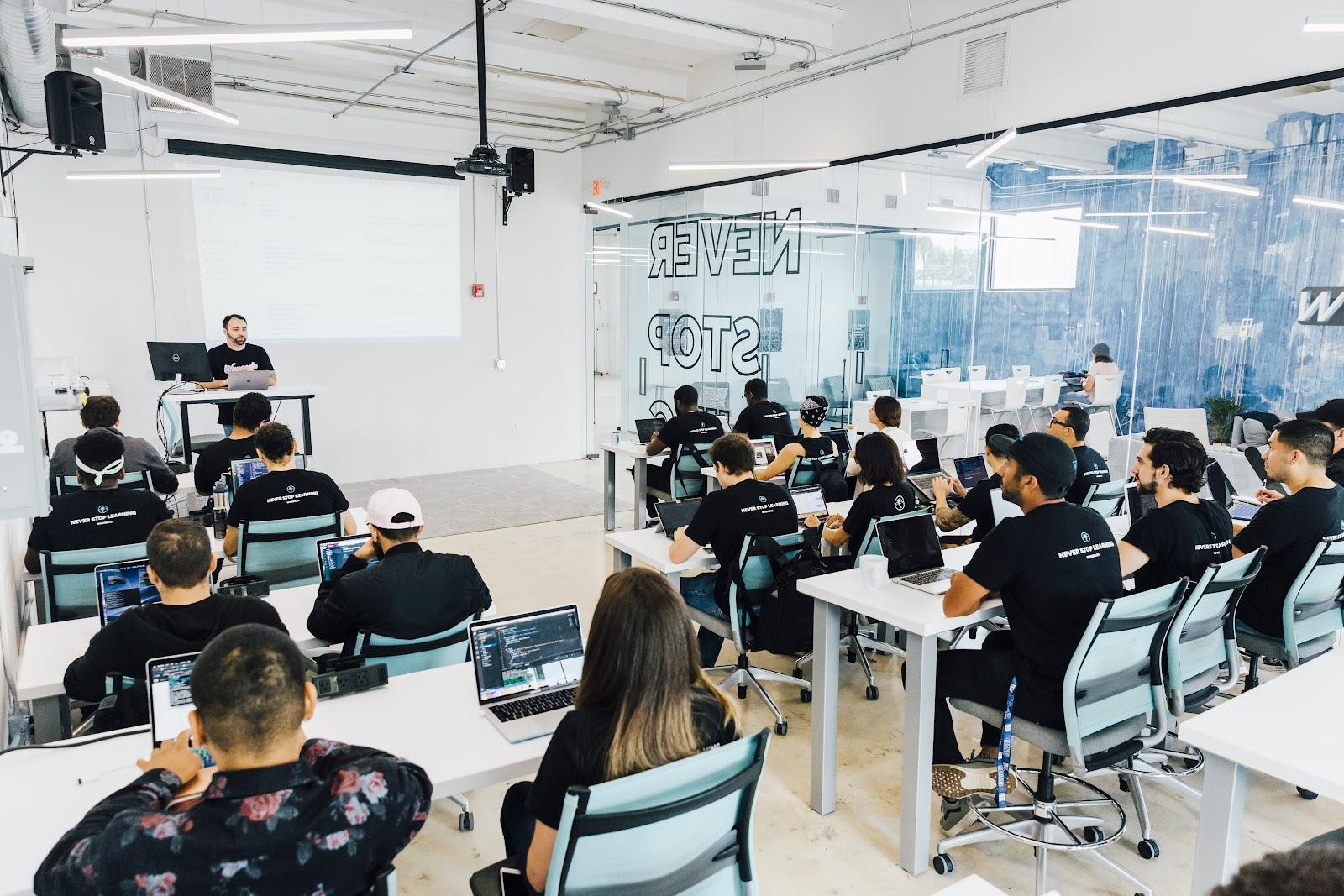 Wyncode Miami Classroom