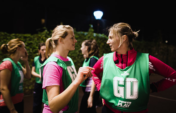 Power Play | GoSweat | Where to play Netball in Clapham?