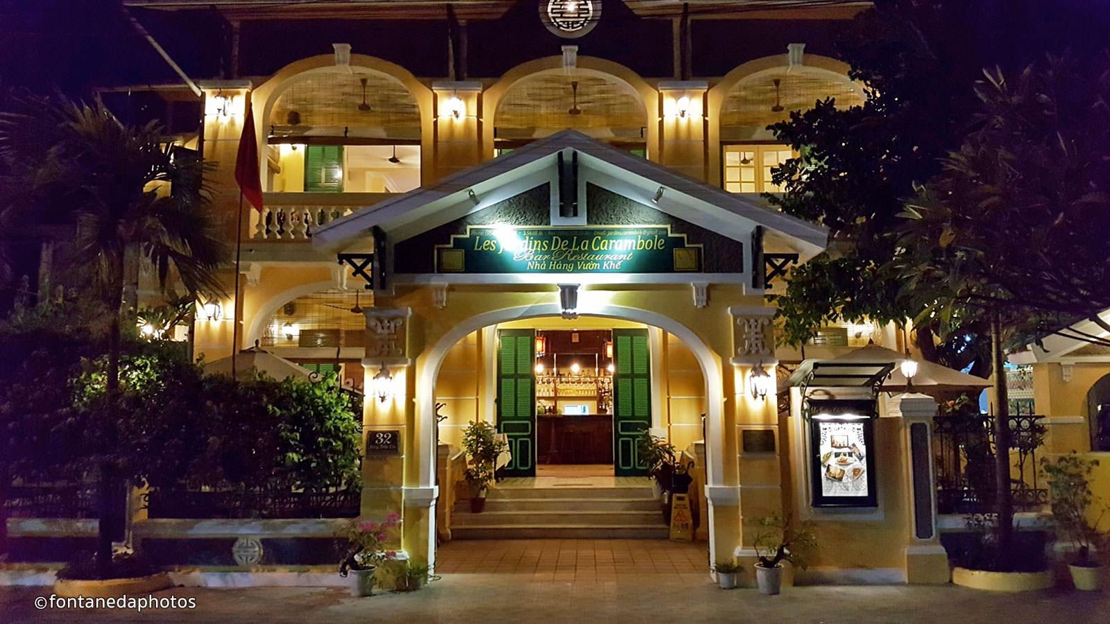 la carambole is one of hue fine dining restaurants