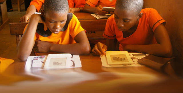 Helping Kids Around the World to Read, One Kindle at a Time