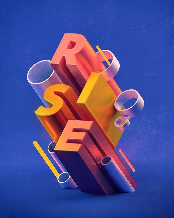 Ilustração criada com técnicas 3D