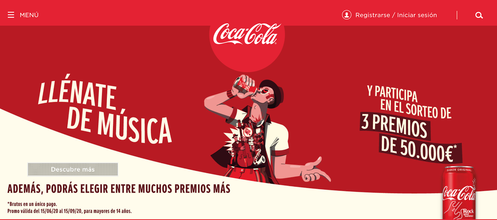 Localization example for Coca Cola