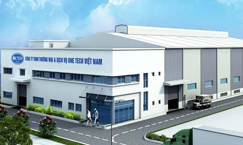 Nhà máy sản xuất giá kệ trưng bày sản phẩm Onetech