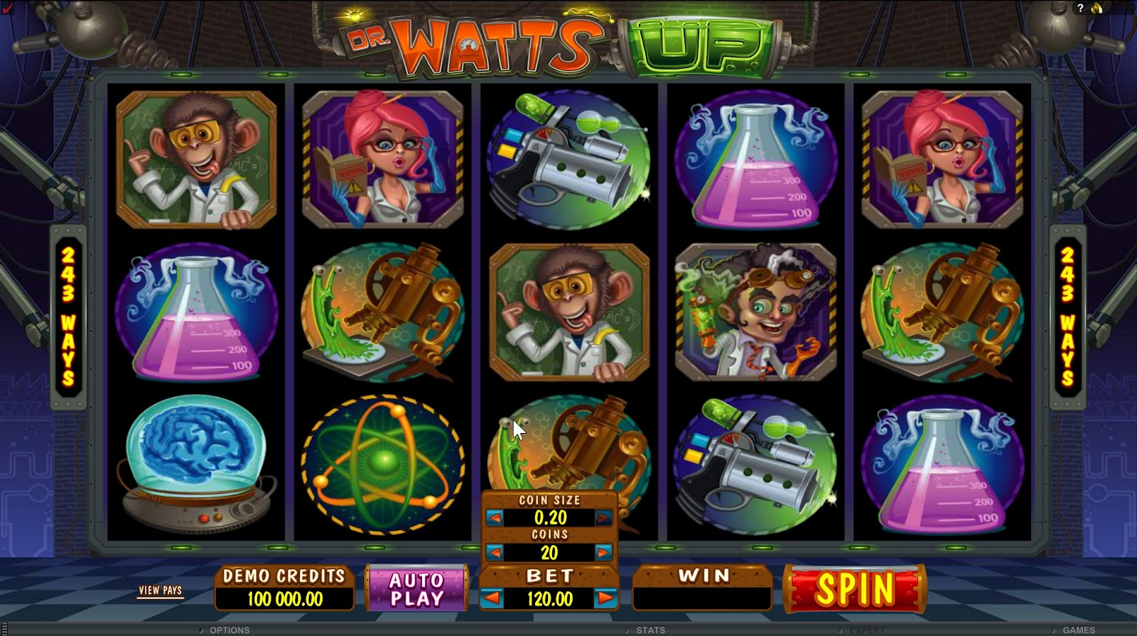 Dr Watts Up Slots Game Review