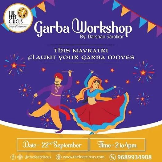 Garba workshops in Pune