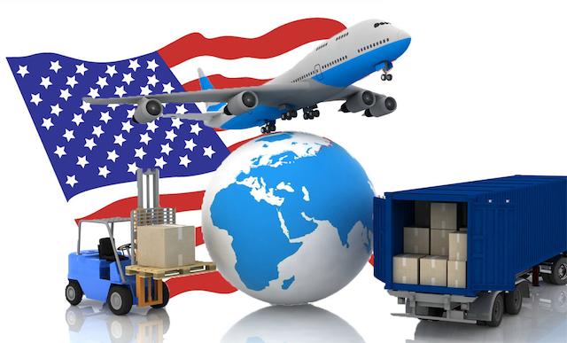 Vận chuyển hàng sang Mỹ bằng đường hàng không