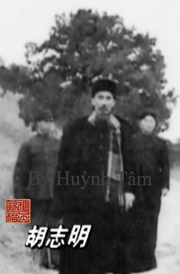 Image result for Năm 1940. Hu Zhiming (胡志明) tại mật khu SR (Cao Bằng, Việt Nam) đi cùng hai tình báo của Bộ An ninh Quốc gia nhân dân Cộng hòa Trung Hoa (MSS). Nguồn: Cục an ninh MSS.