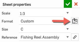 Sheet Properties