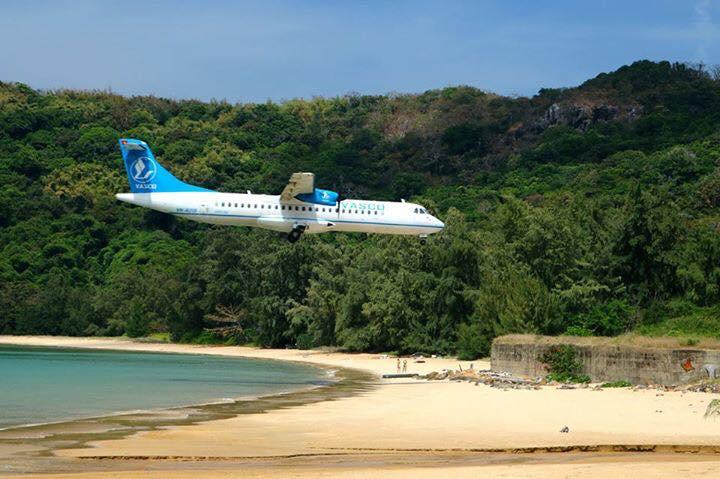 Image result for flight to con dao