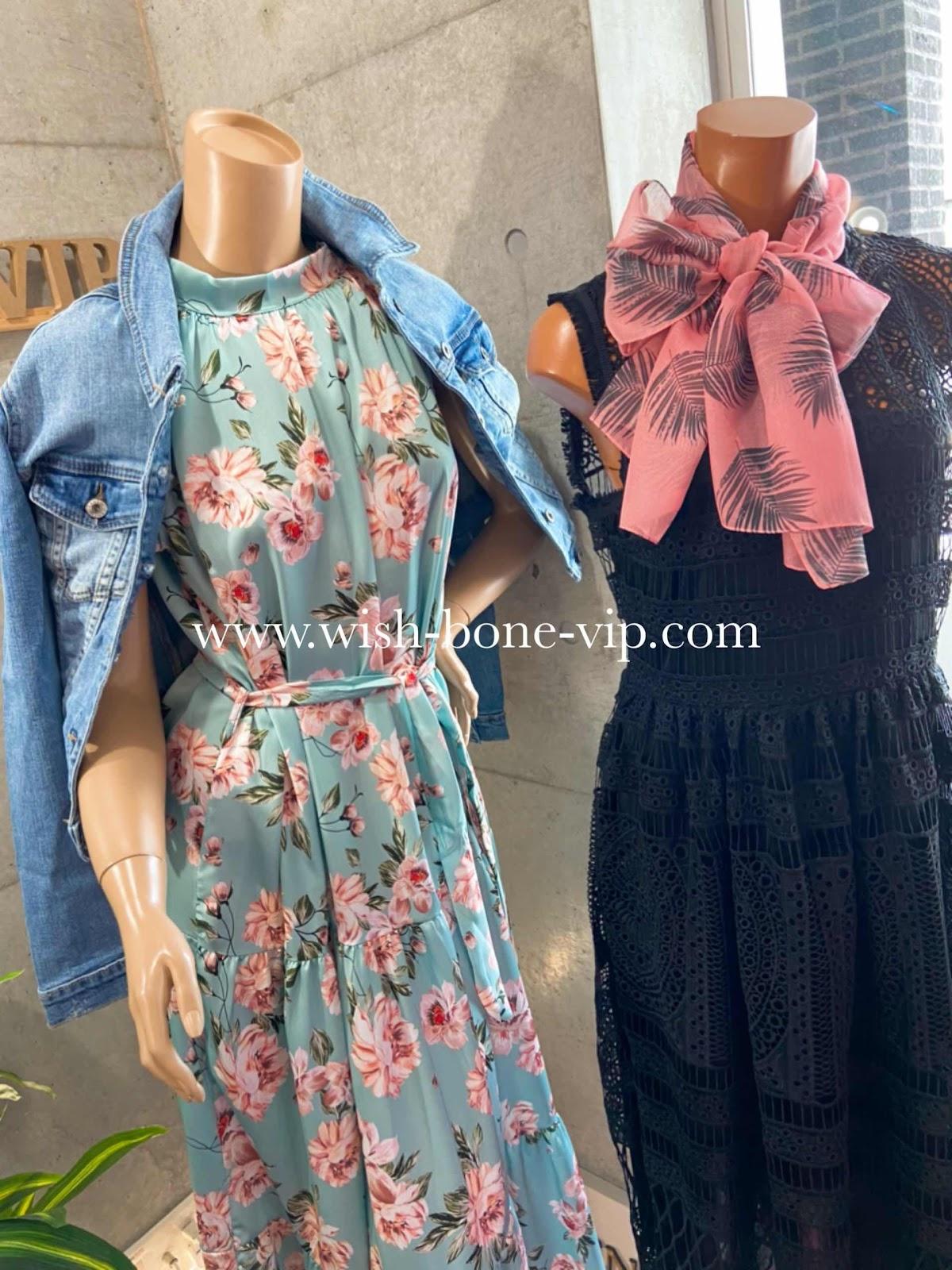 イタリアインポートマキシワンピースの通販/ヨーロッパのファッションを販売するセレクトショップ大阪難波Wish Bone VIPコーデブログです