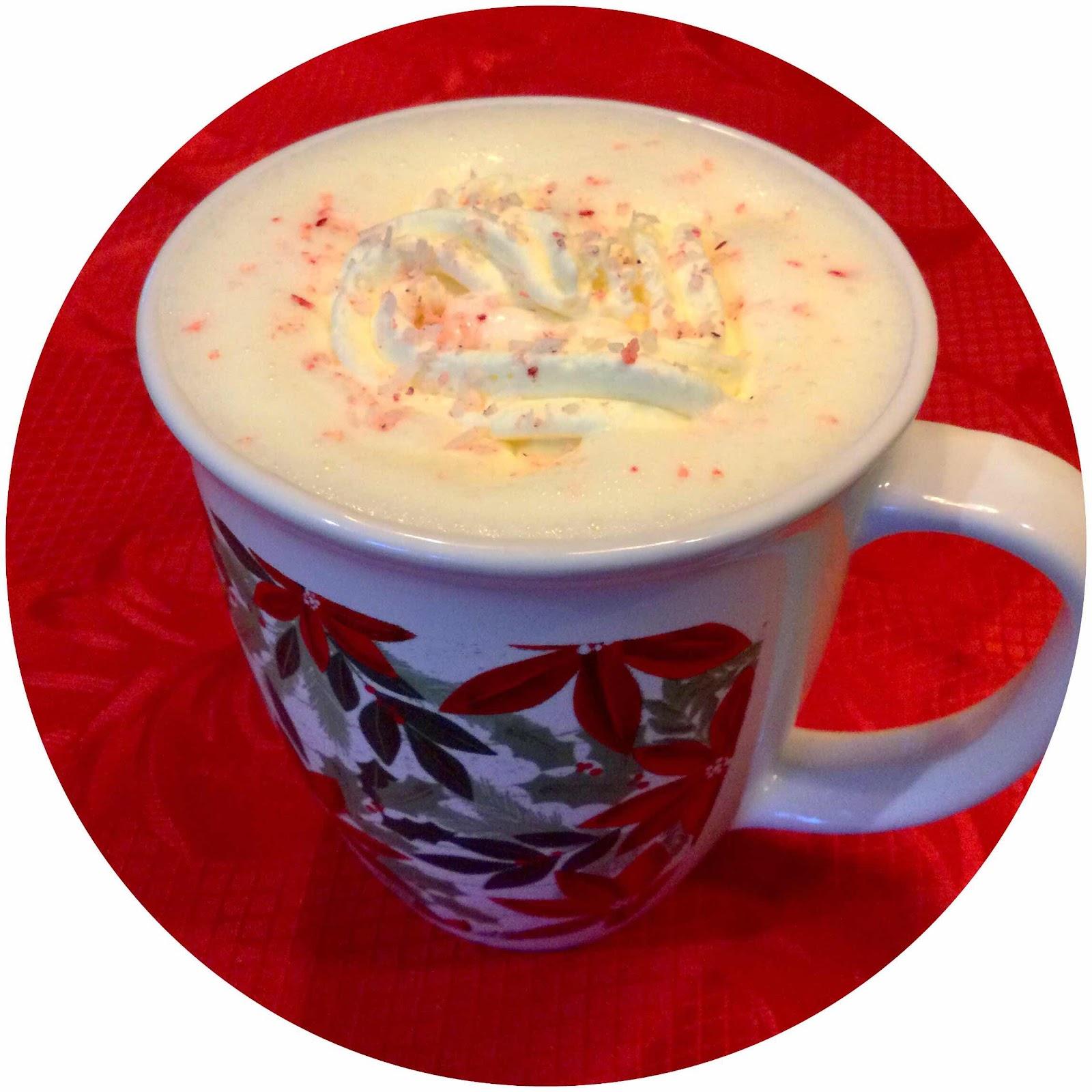 Keto White Chocolate Peppermint Cocoa