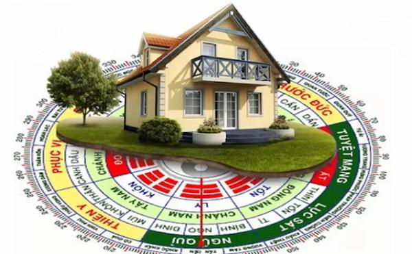Cách xác định hướng nhà theo phong thủy