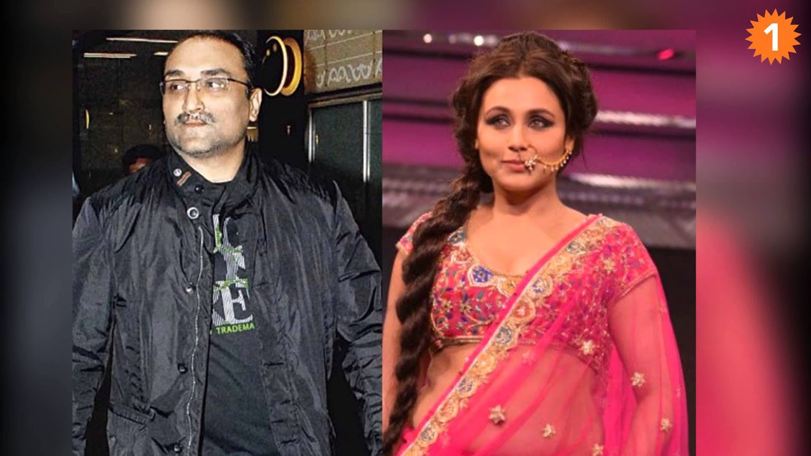 9. Rani Mukerji and Aditya Chopra