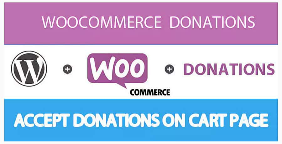 plugin de doação WooCommerce Donations
