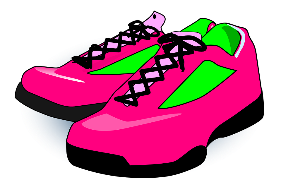 Free vector graphic: Shoes, Sneakers, Pink, Footwear - Free Image ...