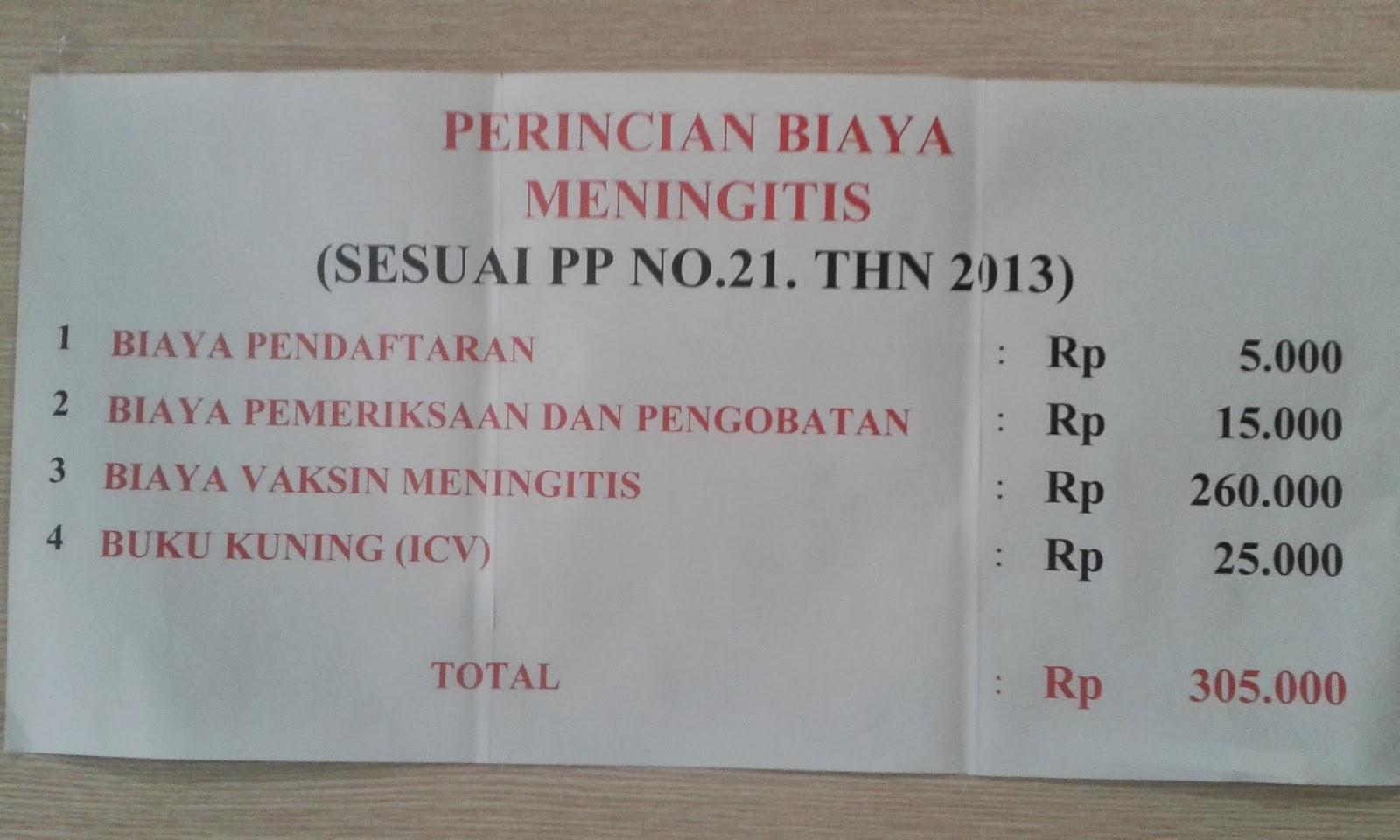 Kkp Kelas I Tanjung Priok Pelayanan Vaksin Meningitis