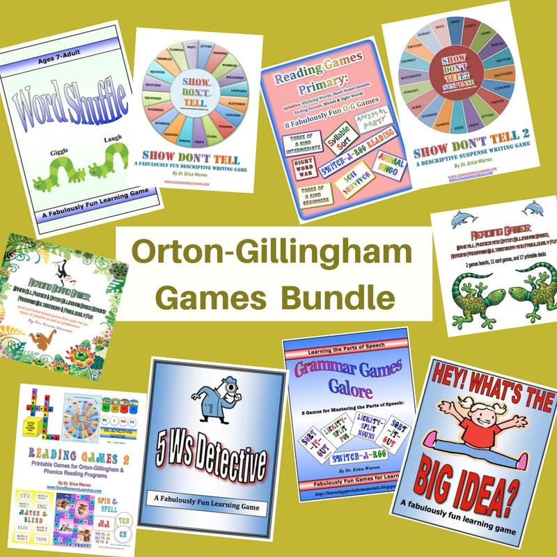 Orton Gillingham Games