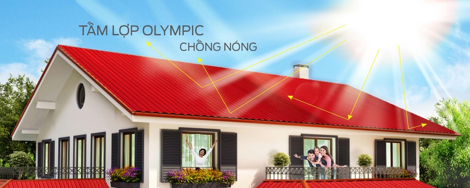 Tôn cách nhiệt Olympic - Tôn cách âm, cách nhiệt hoàn hảo cho công trình