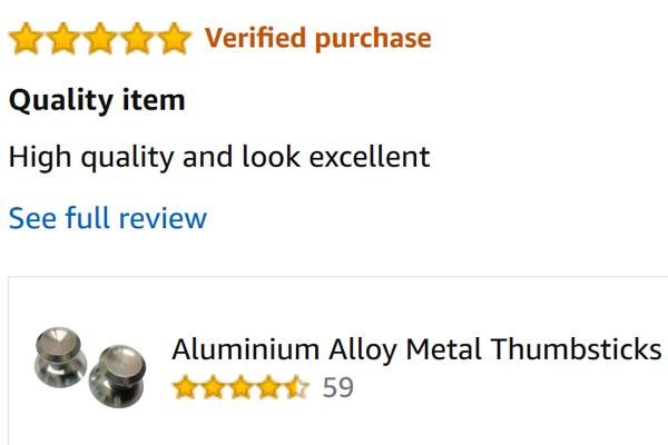 Verified purchase review from Amazon image