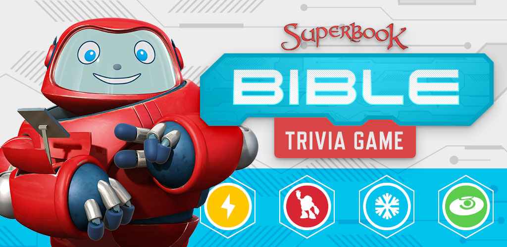 Rich results on Google's SERP when searching for any Bible game like Superbook Bible Trivia Game.