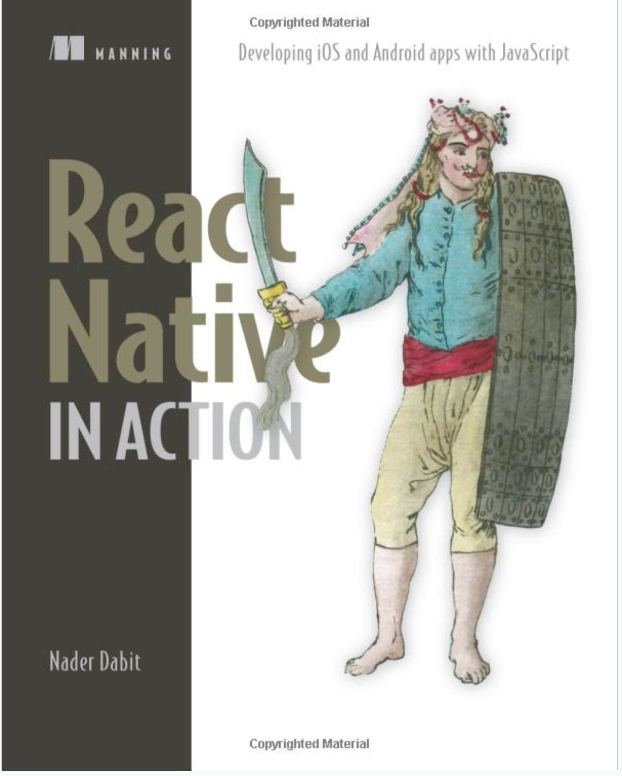 Cover of React Native in Action