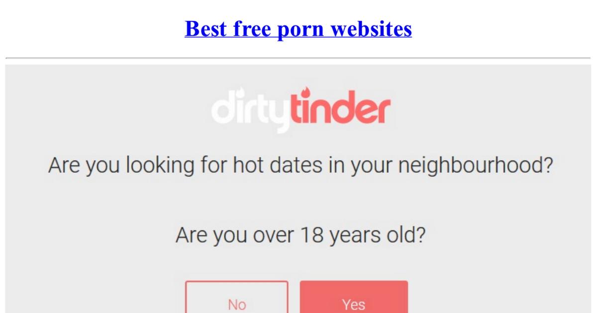 Best free porno websites