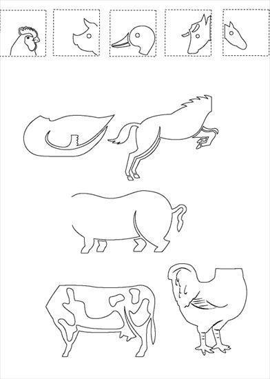 Znalezione obrazy dla zapytania: zwierzęta na wsi przedszkole