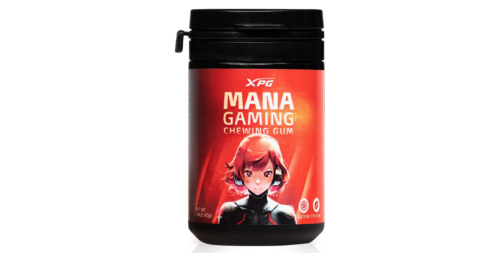 XPG mana caffeinated chewing gum