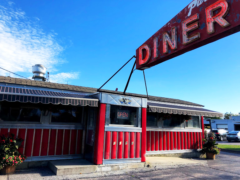 Burlington, Vermont, diner, food, travel