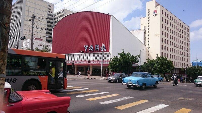 Кинотеатр Yara в Гаване