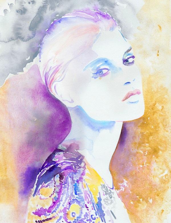 Por amor al arte las frescas y libres acuarelas de cate parr - Pinturas de moda ...