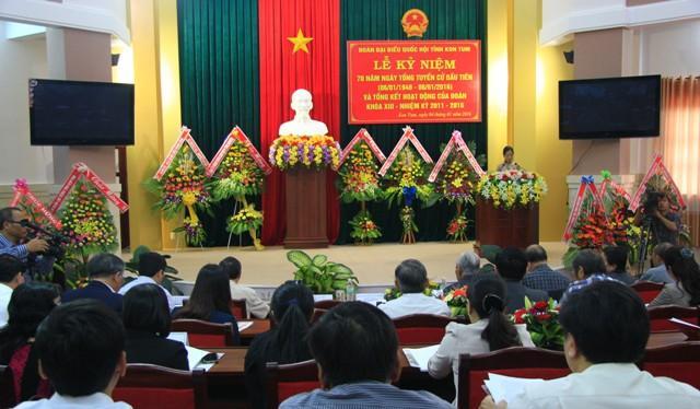 Kỷ niệm 70 năm Ngày tổng tuyển cử đầu tiên và tổng kết hoạt động của Đoàn ĐBQH tỉnh khóa XIII