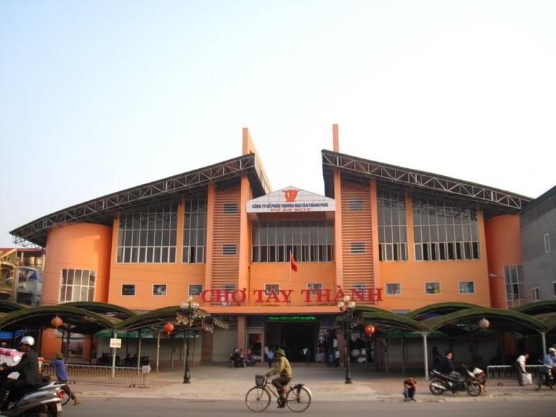 Chợ Tây Thành - khu chợ nổi tiếng tại Thanh Hóa