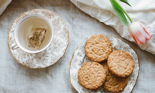 For breakfast, Italians love dipping crisp biscuits into their morning coffee.
