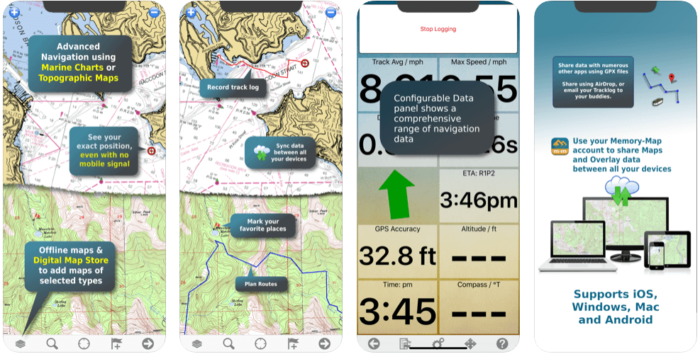 Memory Maps Best off-road GPS app for Android and IOS in 2021