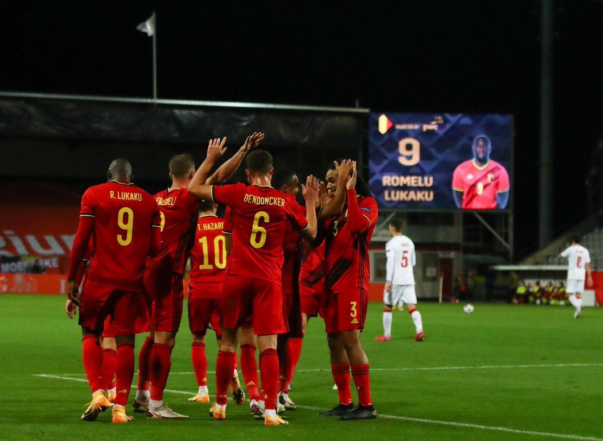Bỉ quá mạnh khi được chơi ở sân nhà