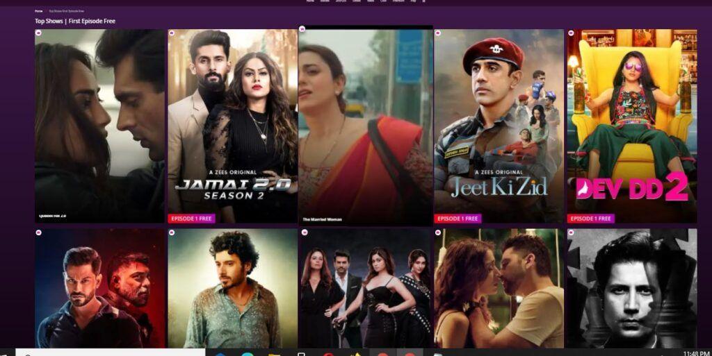 Zee5 TV Shows