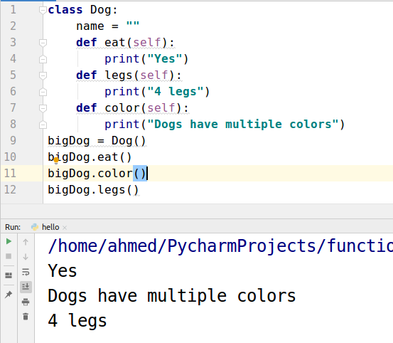 Python OOPs Concept