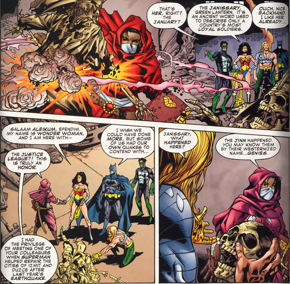 Janissary meets the Justice League