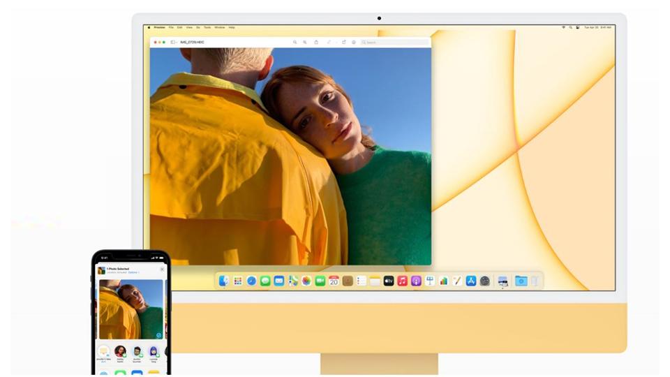 đồng bộ iMac M1 2021 24 inch Retina 4.5K