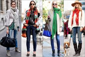 types of scarf styles