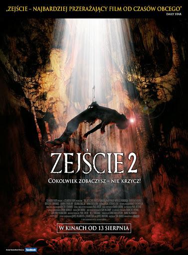 Polski plakat filmu 'Zejście 2'